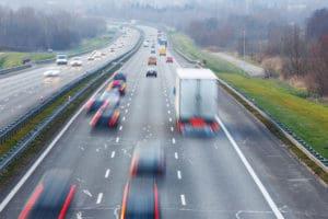 interstate highway traffic
