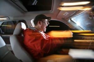 Driver Fleeing The Scene
