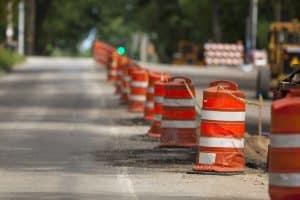 Construction zones are accident prone locations in Michigan