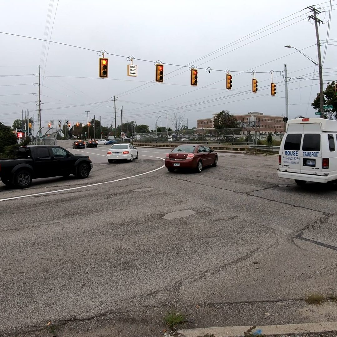 Grand River Avenue and US127 is one of the most dangerous intersection in Ingham County